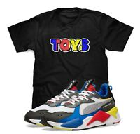 TOYS T-Shirt Designed To Match Puma Select RS-X Toys Sneakers S-3XL