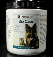 Thomas Lab BIO CASE Pancreatic Enzyme Formula for Dogs and Cats 12 oz Powder