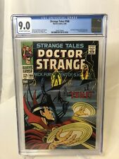 Strange Tales #168 CGC 9.0 Last Issue Nick Fury & Doctor Strange MARVEL COMIC