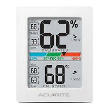 AcuRite 01083M Pro Accuracy Temperature Humidity Monitor Great For Grow Tent