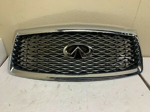 2018 2019 2020 Infiniti QX80 Front Grille W/Camera OEM
