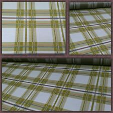 """HBF Textiles Hipster Modern Plaid Caramel Upholstery Fabric 54"""" by the yard"""