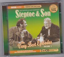 STEPTOE & SON  THE VERY BEST EPISODES VOLUME 1 BBC RADIO 2CD AUDIO BOOK