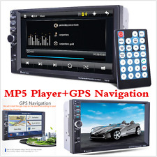"2 Din In-Dash 7""  Touch Screen GPS Navigation Car Stereo FM Radio MP3/MP5 Player"