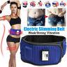 Blue Slimming Belt Electric Vibration Massage Machine Lose Weight Burning Fat US