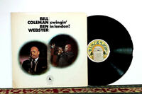 Bill Coleman, Ben Webster ‎– Swingin' In London, LP 1972, Promo - NM Vinyl