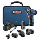 Bosch 12V Max 5-In-1 Drill Driver Sys GSR12V-140FCB22-RT Certified Refurbished photo
