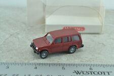 Wiking 2630220 Mitsubishi Pajero SUV 4X4 1:87 Scale HO