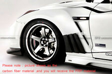 AER For Nissan GTR R35 2013 Ver Vs-Style Front Wide Fender Kits (For OEM Bumper)