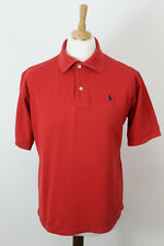 RALPH LAUREN Red Polo Size 17.5
