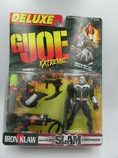 Deluxe GI JOE Extreme IRON KLAW with ATTACK ROCKET w/ultra Slam Firepower NIB