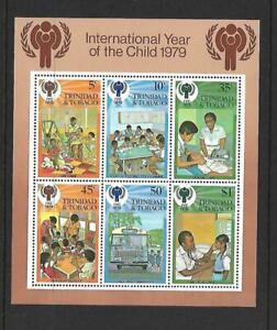 Trinidad & Tobago  Souvenir Sheet  Mint Never Hinged  1979
