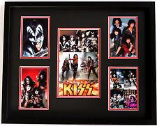 New KISS Memorabilia Framed