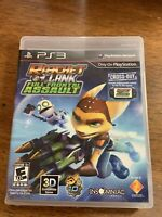 Ratchet & Clank: Full Frontal Assault (Sony PlayStation 3, 2012) No Manual