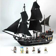 Pirates of the Caribbean The Black Pearl Pirate Ship Legoed Blocks Toys Kit