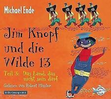 Jim Knopf und die Wilde 13-Teil 3:Das Land, das nicht sein darf.CD HörBuch (1056