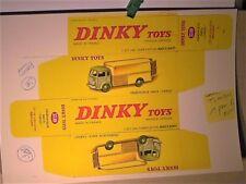 REPLIQUE  BOITE SIMCA CARGO déménageur & BAILLY :  DINKY TOYS 1958