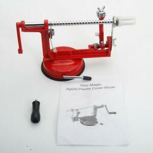Apple Slinky Machine Fruit Cutter Slicer Peeler Corer Potato Tool Home Kitchen