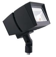 RC/RAB Lighting FFLED39 Flood 39-watt Cool Led 120-volt To 277-volt (Bronze)