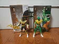 Lightning Collection Power Rangers Target Green Ranger Zeo Gold Ranger lot of 2