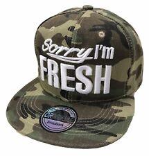 SnapBack Fresh cap gorra basecap gorra hip-hop Cool Trucker Cappy camuflaje