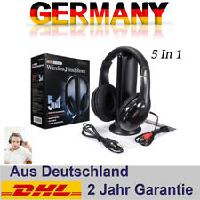 Kopfhörer Funk-Kopfhörer Headset wireless kabellos Kopfbügel Media Stereo für PC