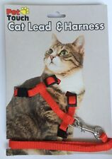 Red Cat Harness And Lead