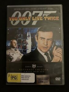 You Only Live Twice - Ultimate Edition (DVD, 1967, 2-Disc Set) Region 4