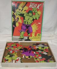 HULK 1978 Giant Floor Puzzle - Fair to Good - Free Post - Waddington's - Marvel