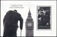 Gibraltar 2015 Sir Winston Churchill/Military/WWII/People/History 1v m/s  s6392d