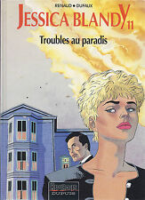 BD  Jessica Blandy - N°11 -  Troubles au Paradis- E.O.1995 -TBE - Renaud
