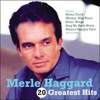 MERLE HAGGARD *  20 Greatest Hits * New CD * All Original Songs * NEW