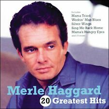 MERLE HAGGARD *  20 Greatest Hits * New CD * All Original Songs * NEW