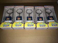 "Nickelodeon Sandy 1.5"" Vinyl Collectible Keychains Spongebob LOT OF 5"