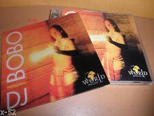 DJ BOBO cd WORLD IN MOTION 3d Leticular Card PRAY shadows of night RESPECT YSELF