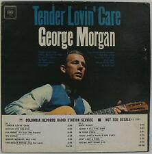 GEORGE MORGAN Tender Lovin' Care PROMO Columbia MONO 1963 Original NM Rare WLP