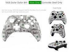 Xbox One S 100$ Dollar Money Hustler Bills Microsoft Controller Shell Parts Mod