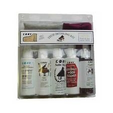 Piano Tech Detailing Kit - By Cory (7 Piece Piano Care Kit) Polish, Cleaners