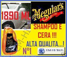 MEGUIARS MEGUIAR'S SHAMPOO GOLD CLASS CAR WASH LAVA E LUCIDA LA CARROZZERIA AUTO