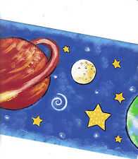 PLANETS IN THE NIGHT SKY WALLPAPER   BORDER   NGB76816B