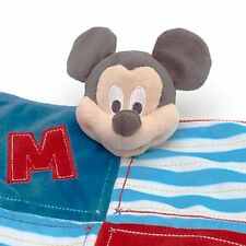 Mickey Mouse Disney Store Exclusive Baby Comforter/Blankie New With Tags!