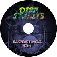 DIRE STRAITS GUITAR BACKING TRACKS 2x AUDIO CD SET BEST GREATEST HITS ROCK MUSIC