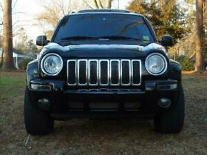 JEEP CHEROKEE LIMITED KJ CHROME GRILLE INSERTS TO SUIT - 2002-2007