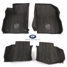 2017-2018 Buick Lacrosse Premium Front & Rear Floor Liners 84204787 Dark Brown