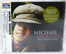 Michael Jackson The Stripped Mixes Taiwan CD w/OBI