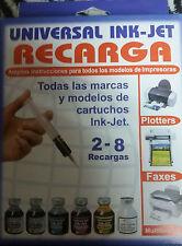 Recarga Universal INK-JET Todas las marcas y modelos de cartuchos Ink-jet R-3199