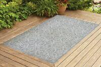 Benissimo Indoor / Outdoor Sisal Area Rug for Garage, Garden Kitchen | Beige