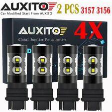 4X 3157 4114 4157 LED DRL Driving Daytime Running Light Bulb 50W 6000K White EOA
