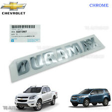 Chrome Duramax Emblem Logo Decal Genuine Chevrolet Colorado Trailblazer 2012 17