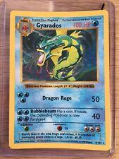 Pokemon SHADOWLESS Ultra Rare Holo GYARADOS Card 6/102 Base Set 1st WOTC